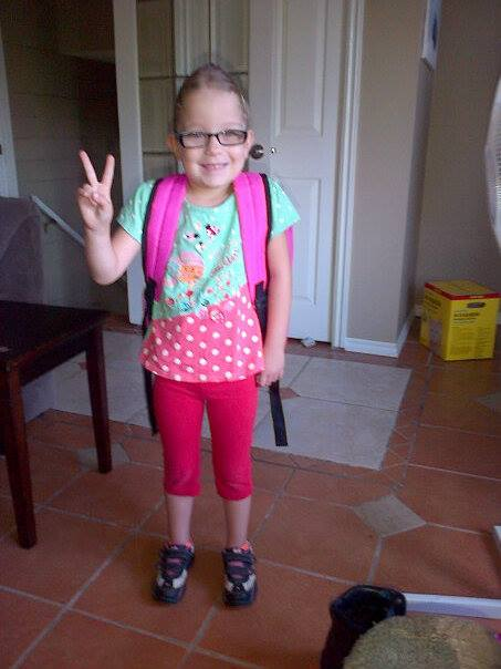 First day of grade 2!